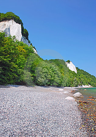 Chalk Cliffs,Ruegen Island,Germany