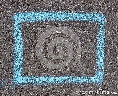 Chalk frame