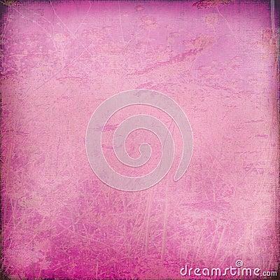 Chalk scratch pink background