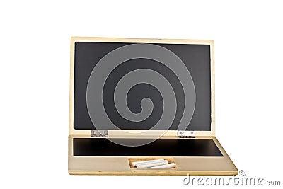 Chalkboard laptop