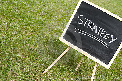 Chalkboard and strategy