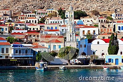 Chalki island port