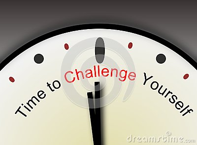 Challenge Yourself message