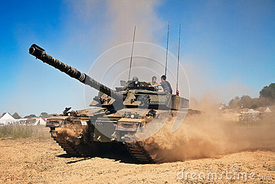 Challenger 1 tank Editorial Photography