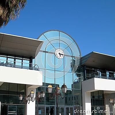 Chamber commerce maritime terminal ajaccio corsica