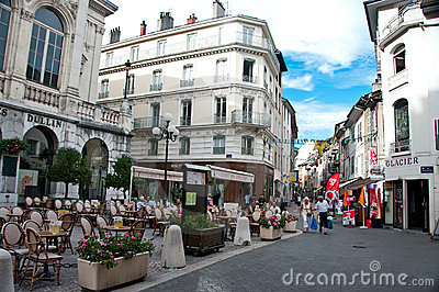 Chambery Editorial Stock Image