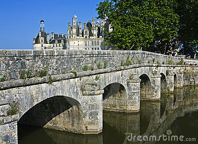 Chambord with bridge