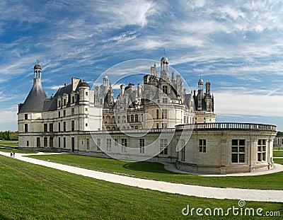Chambord Castle on the Loire River. France.