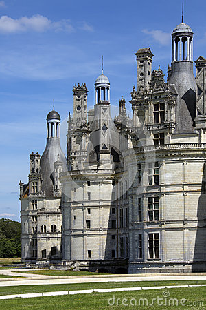 Chambord Chateau - Loire Valley - France