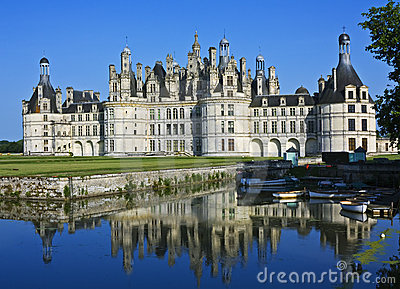Chambord with reflections