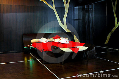 Futuristic Furniture on Futuristic Bedroom  Click Image To Zoom