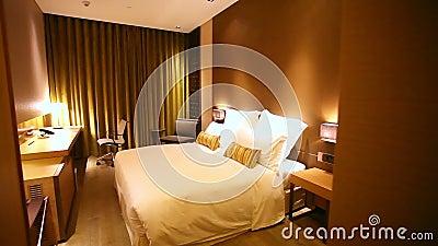 Chambre d'hôtel luxueuse