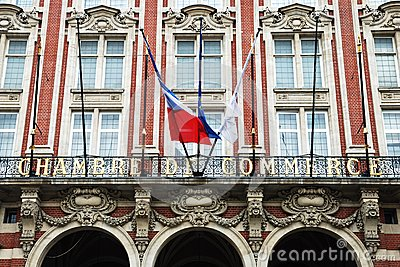 Chambre de commerce lille editorial stock photo image for Chambre de commerce polonaise en france