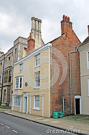 Chambre de Jane Austen, Winchester