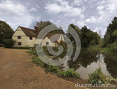 Chambre de Willy Lott et moulin de Flatford