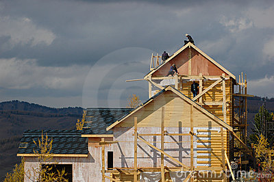 Chambre en construction