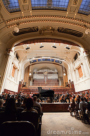 Chambre municipale Prague Photo stock éditorial