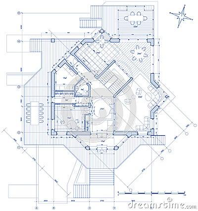 Chambre plan d 39 architecture photographie stock image for Modele d architecture de maison