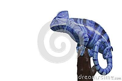 Chameleons statue