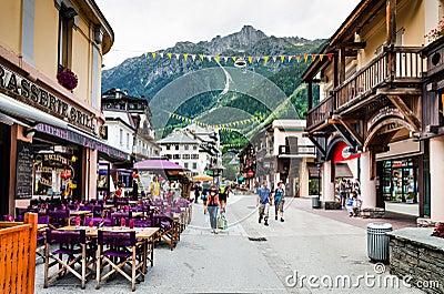 Chamonix, France Editorial Image