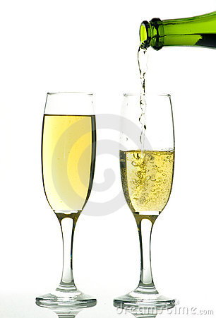 Free Champagne Royalty Free Stock Photography - 13810847