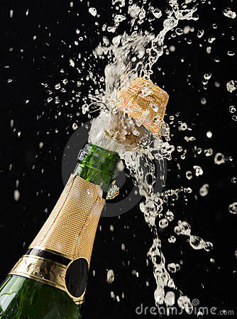 Free Champagne Bottle Royalty Free Stock Photography - 11754647