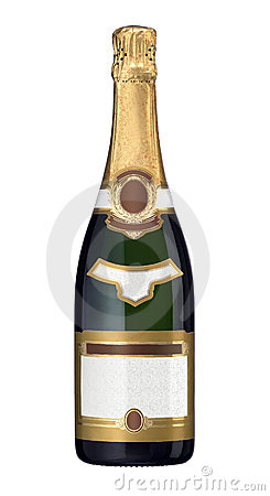 Free Champagne Bottle Stock Photo - 3741320