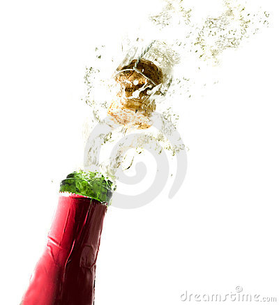 Free Champagne Bottle Cork Royalty Free Stock Images - 2332549