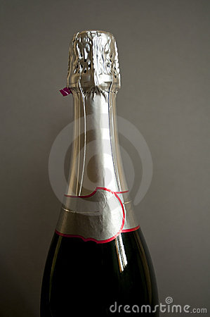 Free Champagne Bottle Neck Stock Images - 12116134