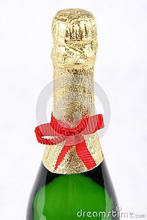 Champagne bottleneck