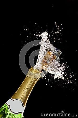Champagne burst