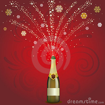 champagne celebrate background