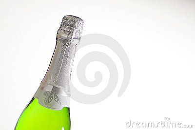 Champagne for celebrate christmas festive