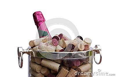 Champagne, Corks, Bucket