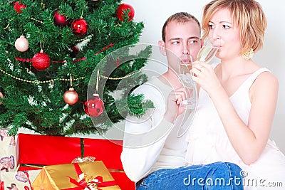 Champagne couple