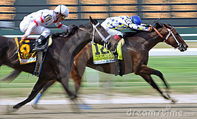 Champagne D Oro Wins The Acorn Stakes Editorial Image