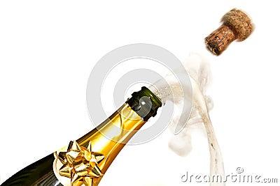 Champagne-Feiern