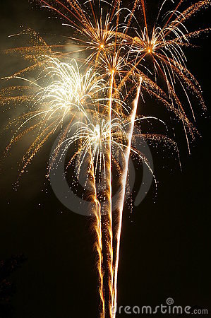 Free Champagne Fireworks Stock Images - 241204