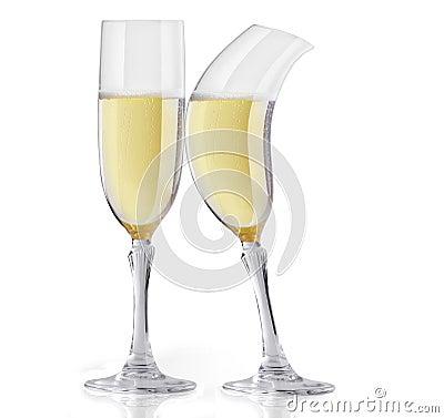 Free Champagne Flirting Royalty Free Stock Photo - 78245