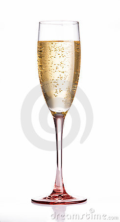 Free Champagne Flute Glass Royalty Free Stock Photos - 7157528