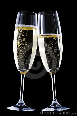 Free Champagne Flutes Stock Photo - 3824210
