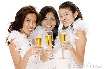 Champagne Girls #2
