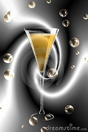 Free Champagne Glass. Stock Photos - 108683