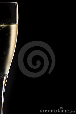 Free Champagne Glass Close Up Stock Image - 3707431