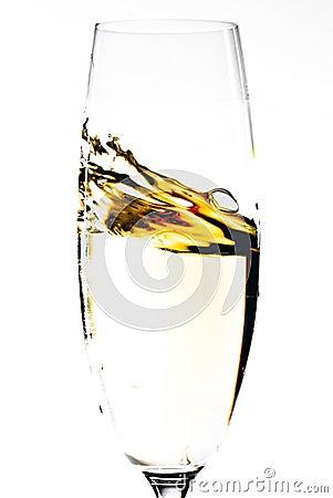 Champagne glass V1