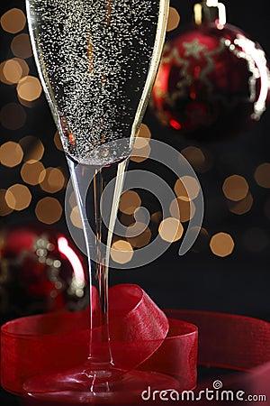 Champagne in glasse