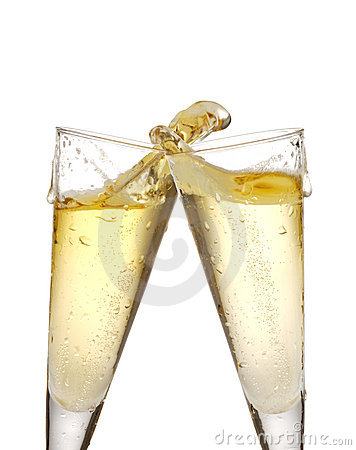 Free Champagne Glasses Stock Photo - 14884920