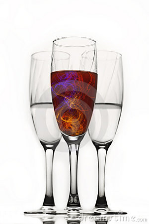 Free Champagne Glasses Stock Photography - 21317552