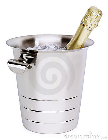 Free Champagne In A Bucket Stock Images - 3582514