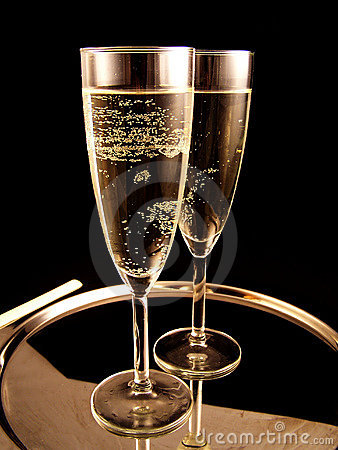 Free Champagne Ready For New Year Party Royalty Free Stock Images - 1157559